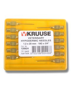 Kanyl Luer 1,2 x 20 mm 12 st/frp