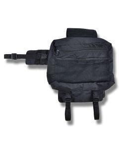 Klövjeväska svart S-20x24 cm