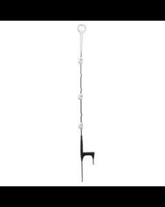 Fjäderstålstolpe Gallagher multitråd 1,10m, 10-pack