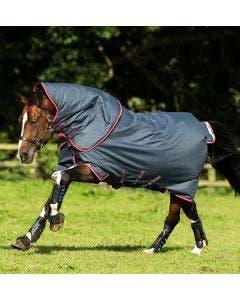 Övergångstäcke Horseware Amigo  Bravo 12 Plus T/O Med 250g Marin/Röd & Blå