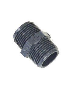 Plastnippel R20 utvändig gänga