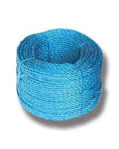 Polyrep blått 8 mm, 30 m/bunt