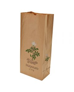 """Potatiskanister 10 kg """"Matpotatis"""" 100 stycken / förpackning"""