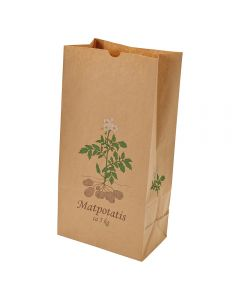 """Potatiskanister 5 kg """"Matpotatis"""" 250 stycken / förpackning"""