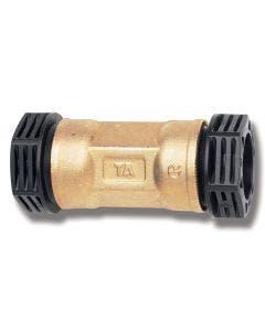 Rak koppling PRK 20 mm slang/slang