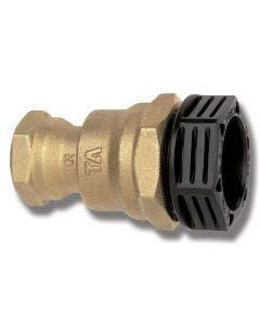 Rak koppling PRK 20 x R15 reducerande slang/invändig gänga