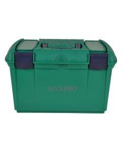Ryktbox 41 x 25 x 25 cm grön