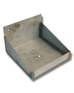 Saltstenshållarbox rostfri 10 kg sten