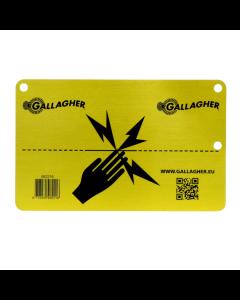 EU Varningsskylt Gallagher