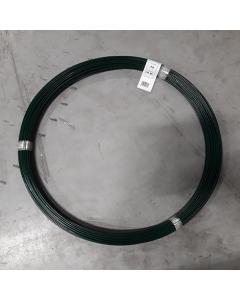 Spänntråd till flätverksnät, 3,8 mm, Svart, 100 m