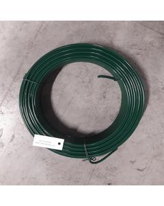 Spänntråd till flätverksnät, 3,8 mm, Grön, 55 m