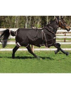 Vintertäcke Horseware Rambo Optimo 400 g Svart