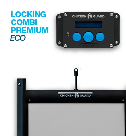 Automatisk Lucköppnare Chickenguard Locking Combi Premium Eco