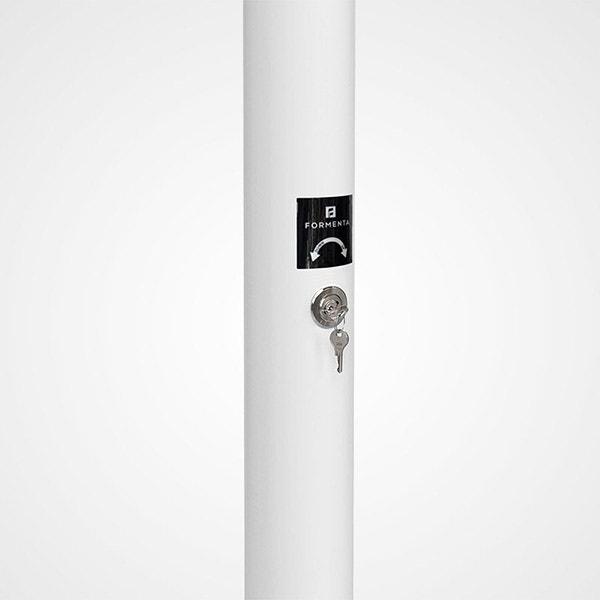 Flaggstång Formenta Iss Exklusiv Med Låsning 9 Meter