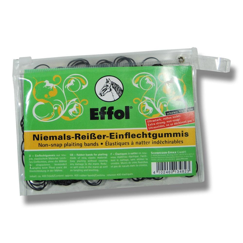 Flätningsband Effol Svart 400 st/frp - Effol
