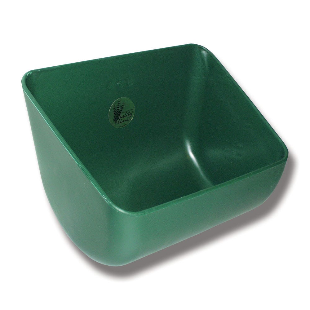 Foderkrubba Ok Plast 145 Grön