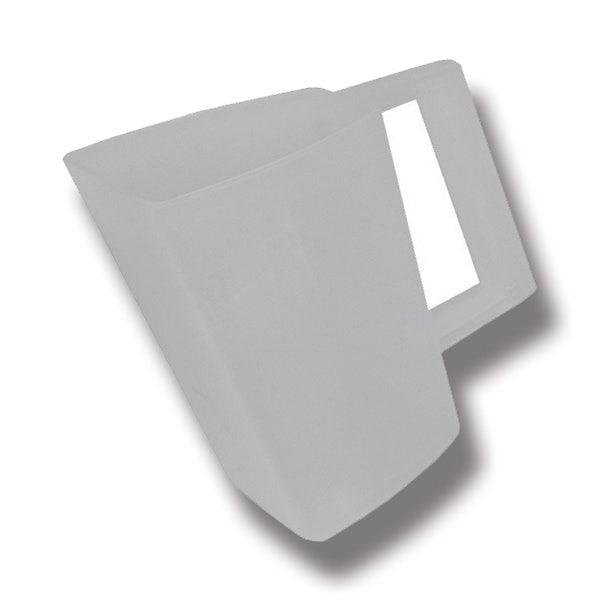 Foderskopa plast 2 liter transparant - Willab