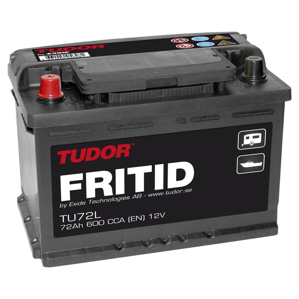 Fritidsbatteri 12v – 72 Ah Tudor Tu 72l