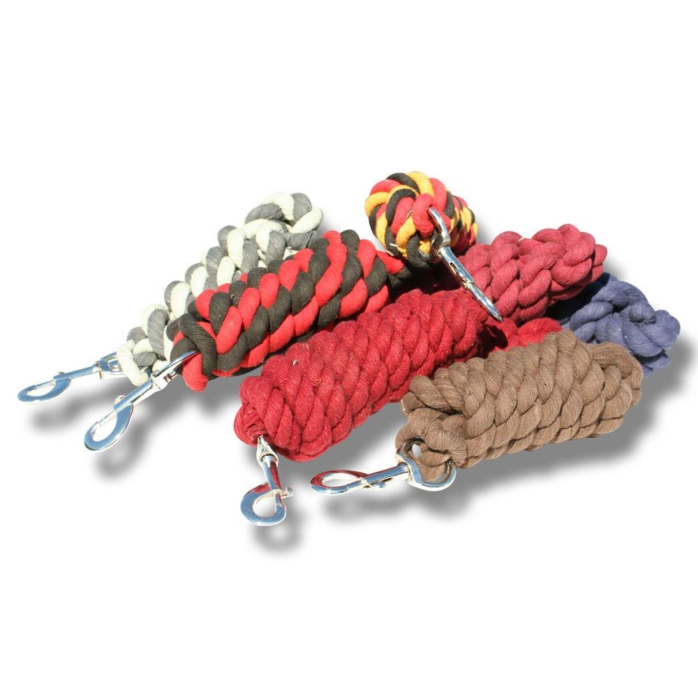 Grimskaft bomull 2 m 10 st/frp mixade färger - Hansbo Sport