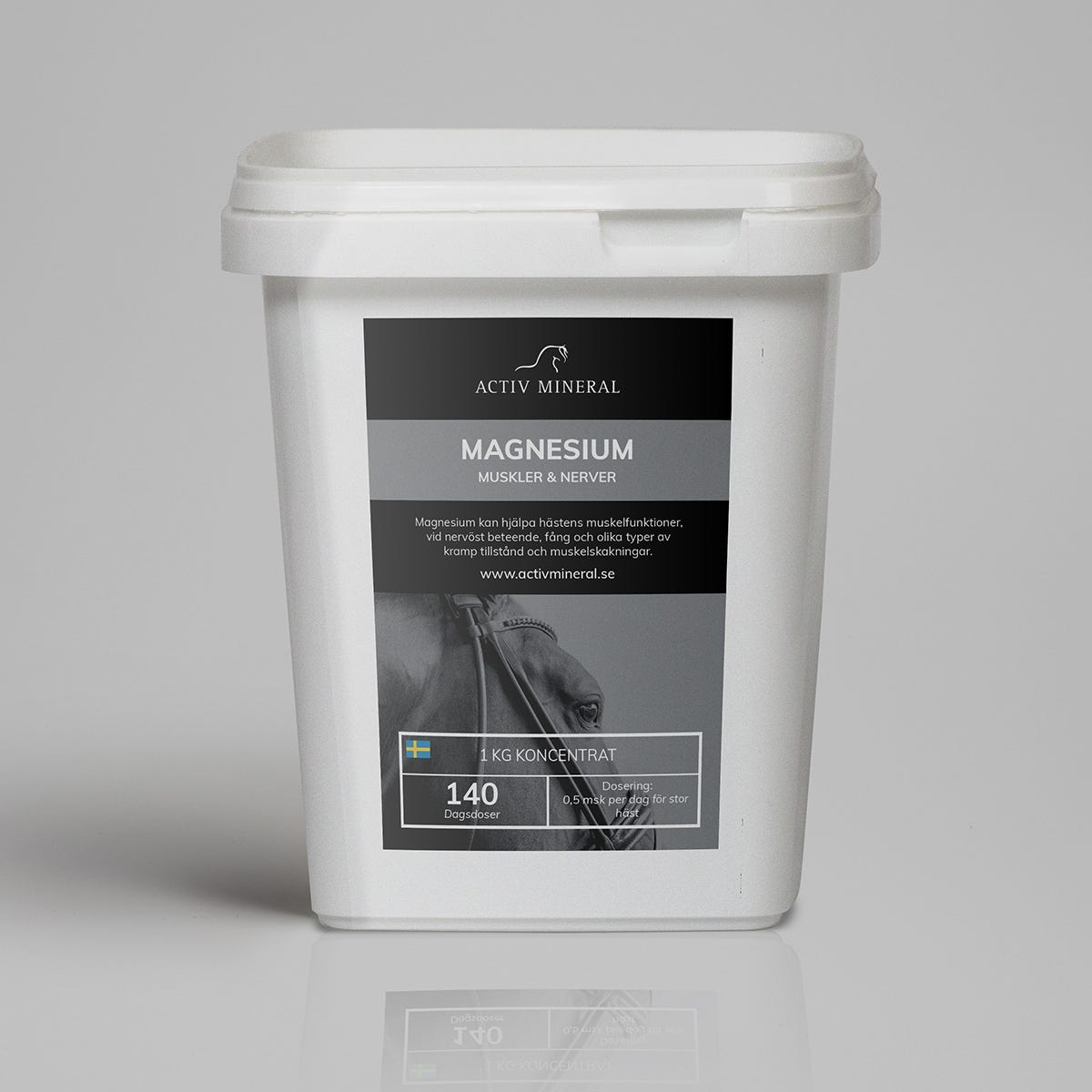 Hästmineral Activ Mineral Magnesium 1 kg - Activ Mineral
