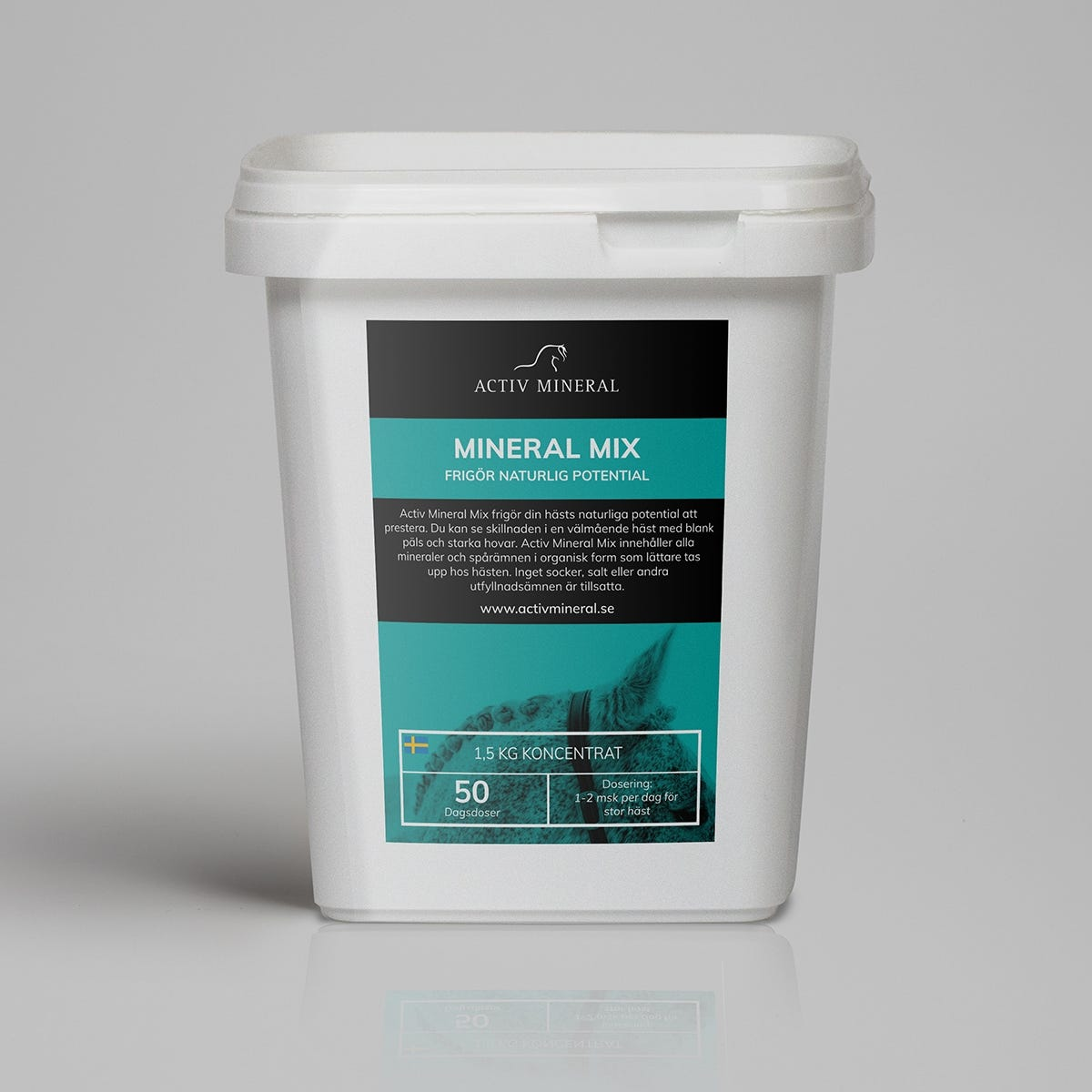 Hästmineral Activ Mineral Mix 1,5 kg - Activ Mineral