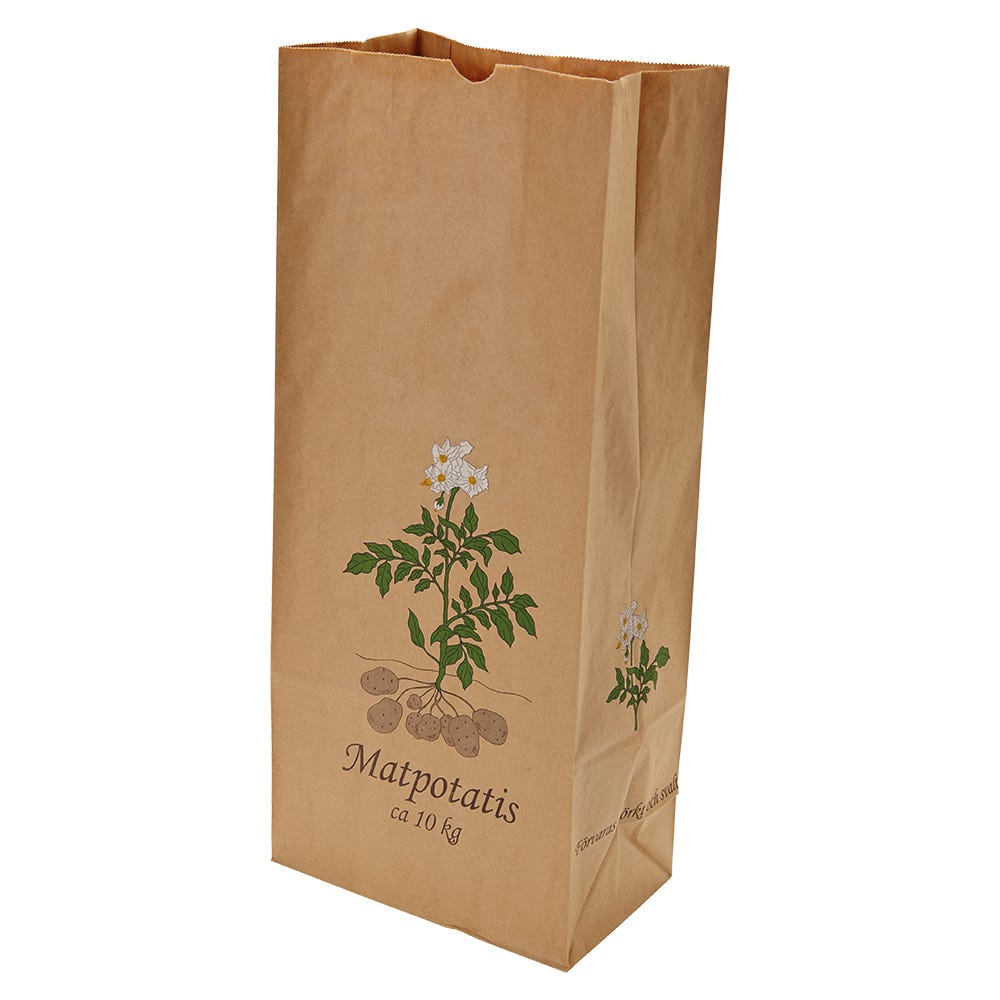 Potatiskanister 10 kg  Matpotatis  100 stycken / förpackning