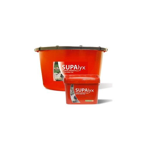Mineral- och vitaminslick SUPAlyx Energi+ Med Fiskolja