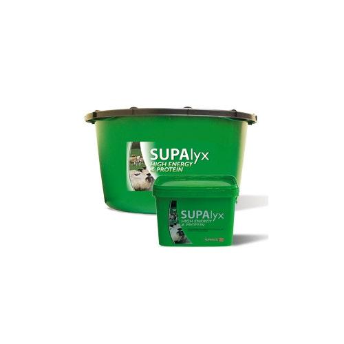 Mineral- och vitaminslick SUPAlyx Protein & Energi 22,5 kg