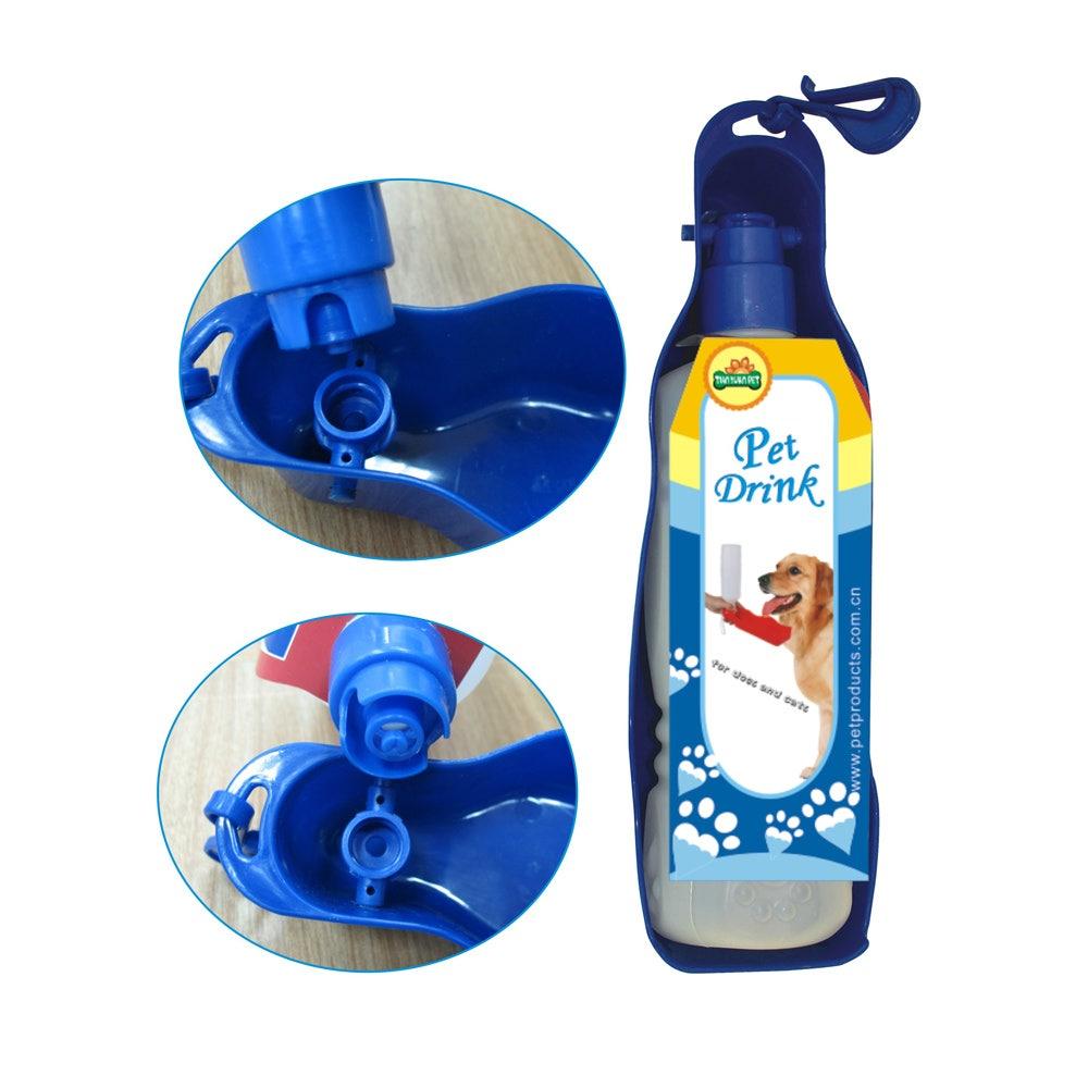 Vattenflaska Portabel Till hund 500 ml Blå