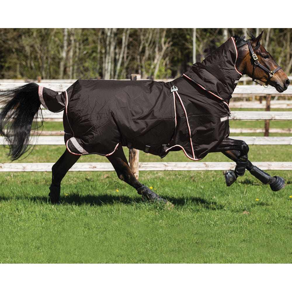 Vintertäcke Horseware Rambo Optimo 400 g 130 cm svart - Horseware