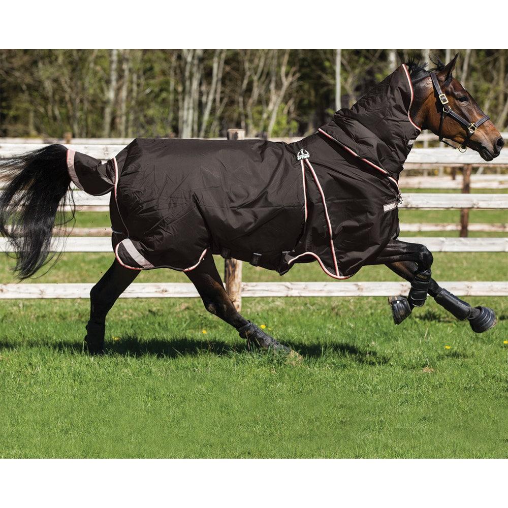 Vintertäcke Horseware Rambo Optimo 400 g 140 cm svart - Horseware
