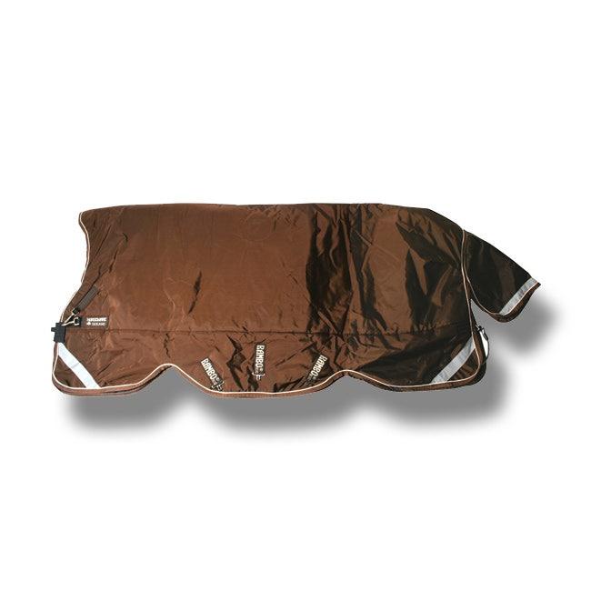 Vintertäcke Horseware Rambo Wug 450 g 130 cm brunt - Horseware