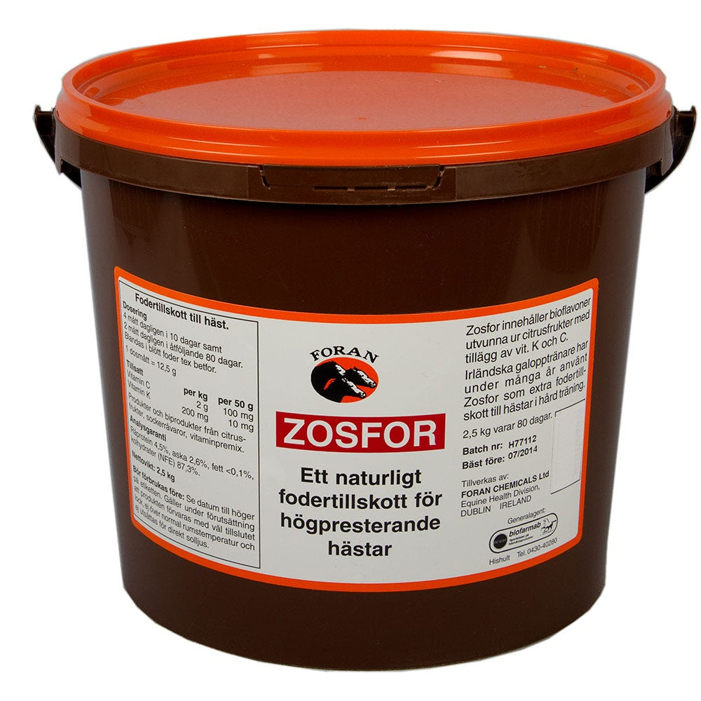 Zosfor Foran 2.5 kg - Foran Equine Products